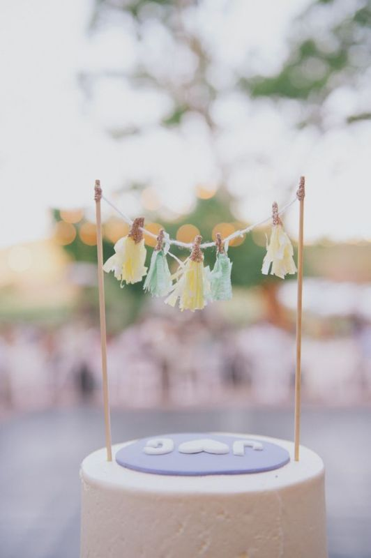 Creative Ways Of Using Tassels In Your Wedding Decor