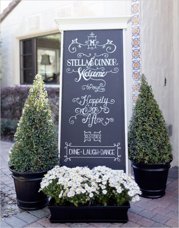 Picture Of Creative Wedding Sign Designs