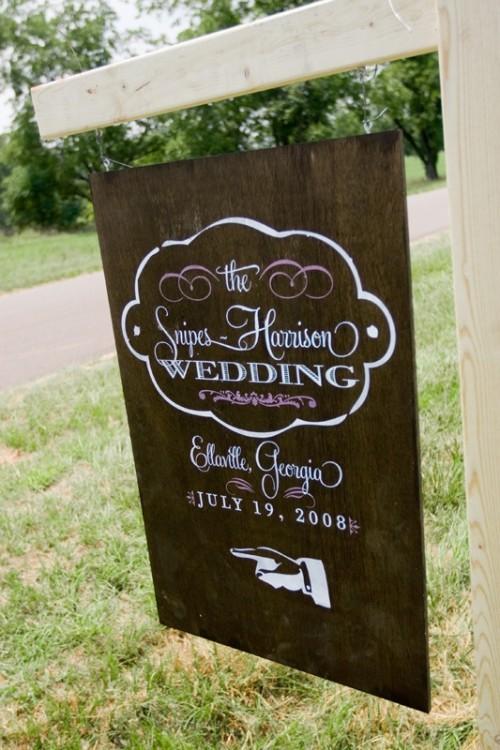 30 creative wedding sign design ideas weddingomania