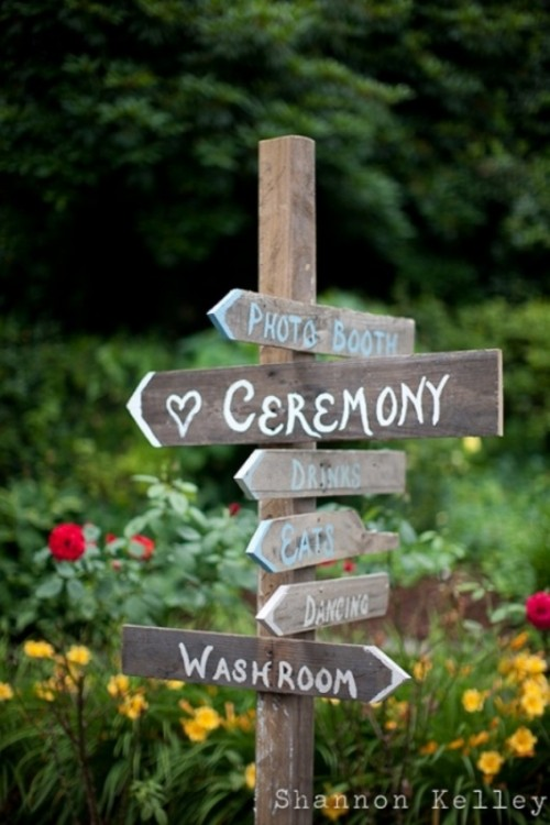 Creative Wedding Sign Designs
