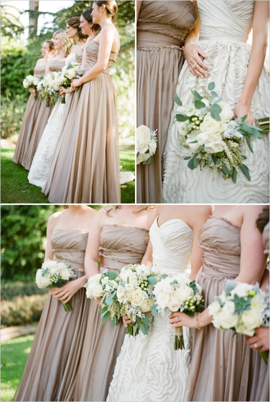 Picture Of Delicate And Gentle Neutral Color Wedding Ideas