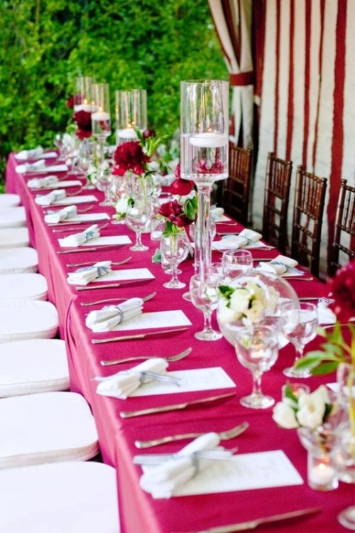 30 Fabulous And Vibrant Fuchsia Wedding Ideas
