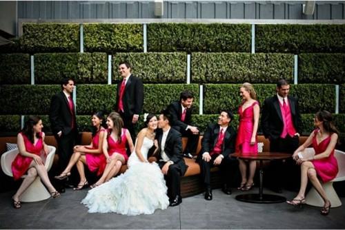 Fabulous And Vibrant Fuchsia Wedding Ideas