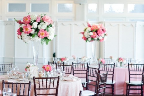 30 fabulous spring wedding reception decor ideas weddingomania - Decorar jarrones altos ...