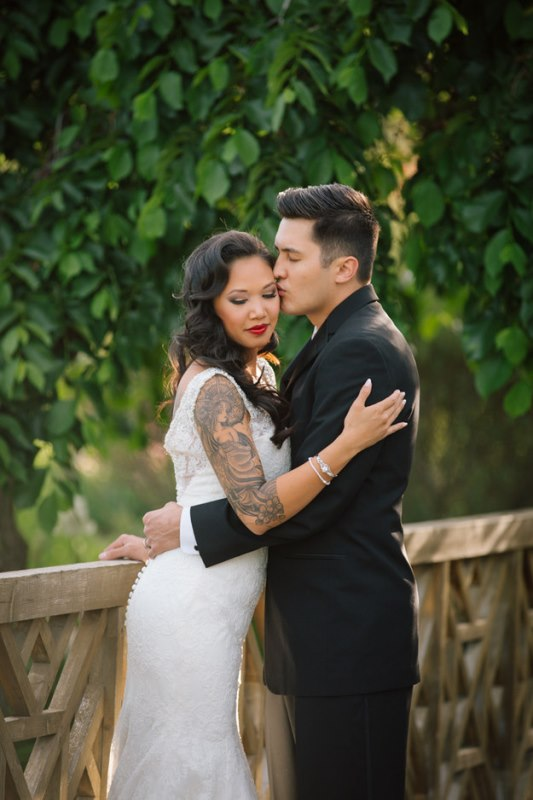 Picture Of gorgeous brides that embrace their tattoos  26