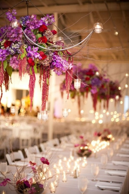 decoration flowers for wedding picture of gorgeous hanging flowers decor ideas overhead 3393