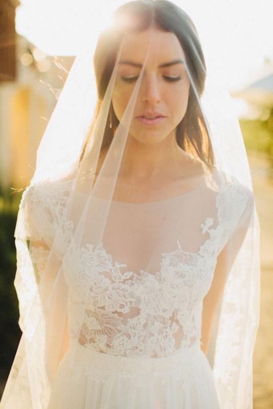 Picture Of gorgeous illusion necklines wedding dresses  24