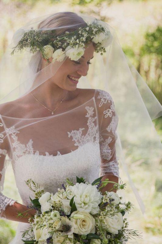 Picture Of gorgeous illusion necklines wedding dresses  29