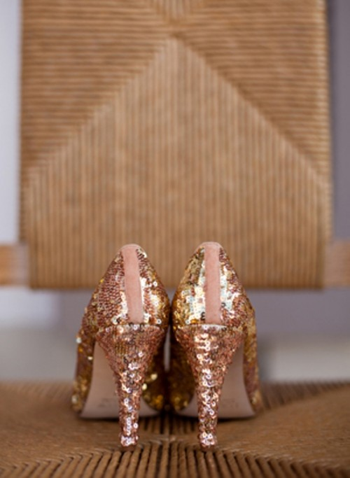 30 Gorgeous Rose Gold With A Sparkle Wedding Ideas - Weddingomania