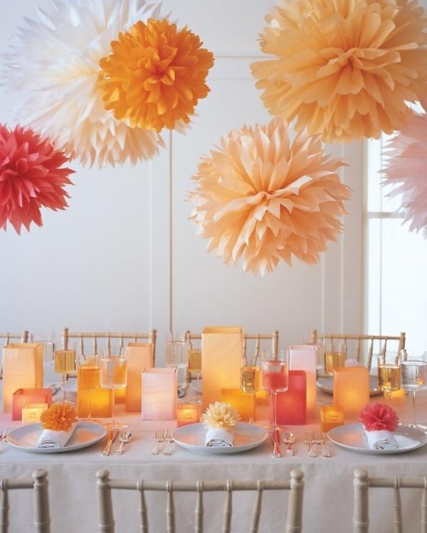 Image result for paper wedding decor