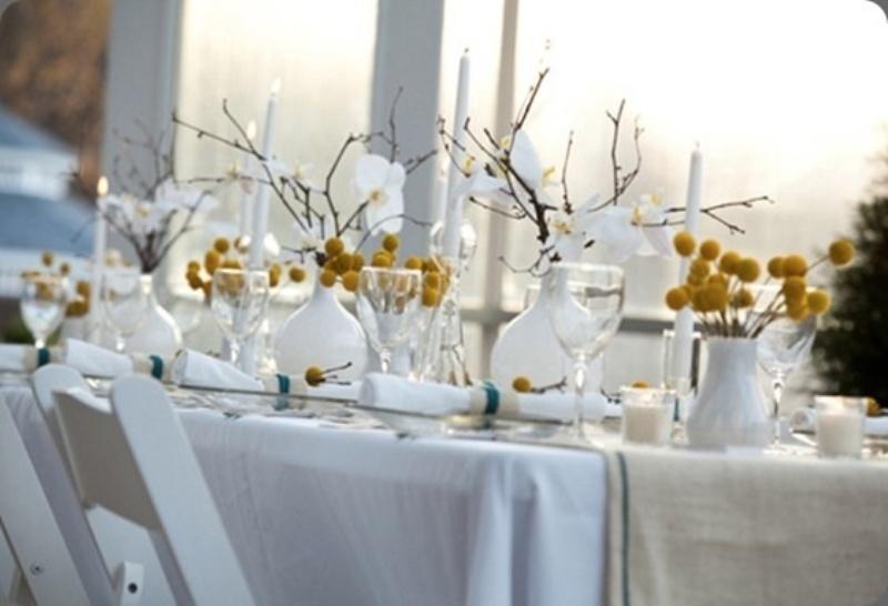 Inspiring Ways Of Using Billy Balls In Your Wedding Decor