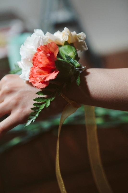 Lovely Corsages For Your Bridesmaids
