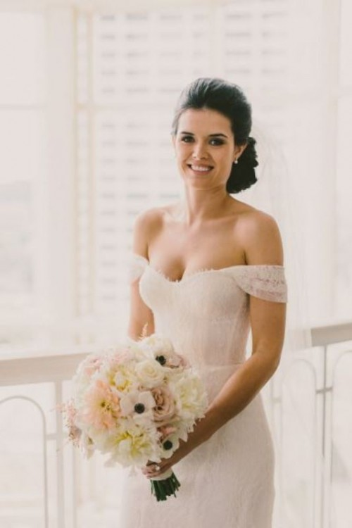 Magnificent Off The Shoulder Wedding Dresses