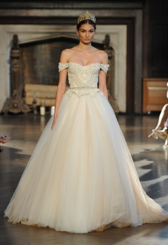 Picture Of magnificent off the shoulder wedding dresses  26