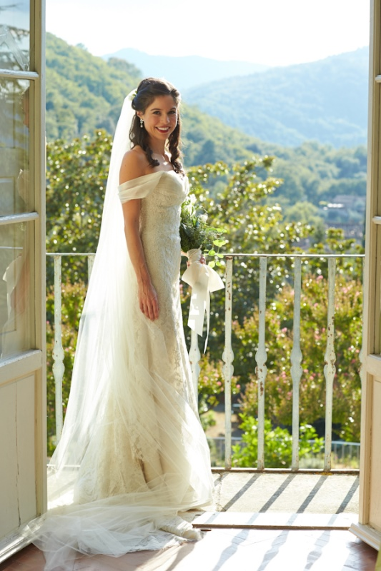 Picture Of magnificent off the shoulder wedding dresses  28