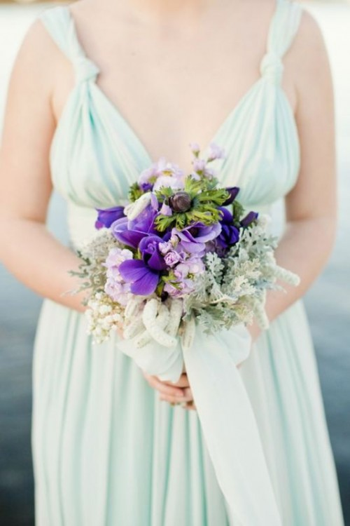 30 Mint And Shades Of Purple Wedding Inspirational Ideas