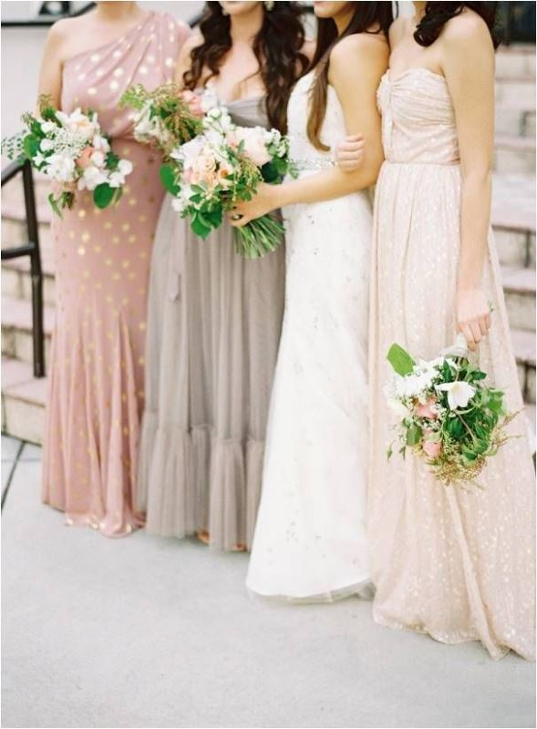 Picture Of most beautiful neutral bridesmaids dresses  1