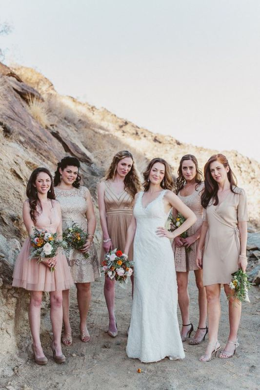 Picture Of most beautiful neutral bridesmaids dresses  10