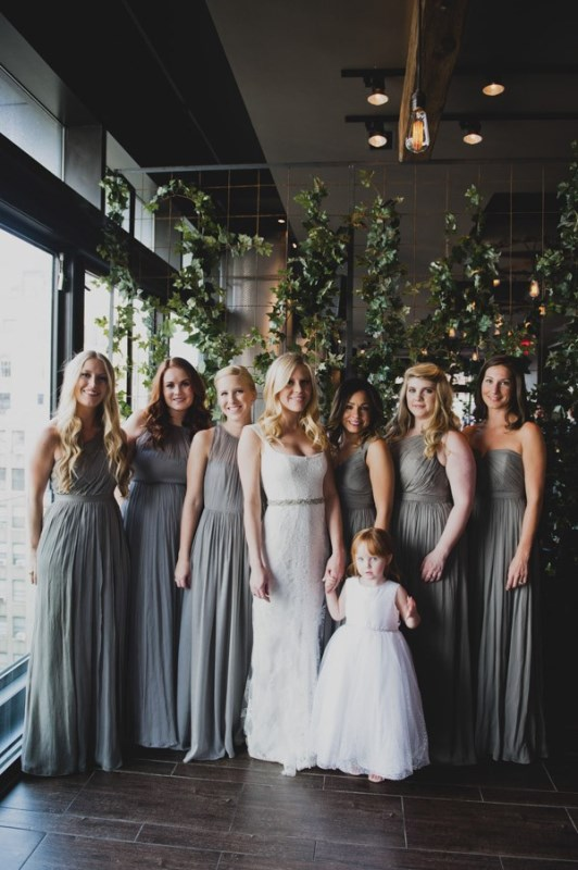 Picture Of most beautiful neutral bridesmaids dresses  16