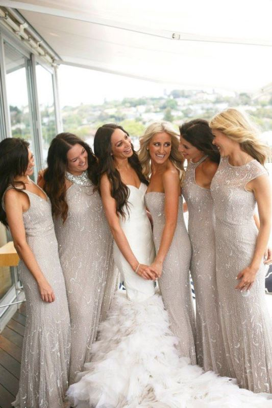 Picture Of most beautiful neutral bridesmaids dresses  18