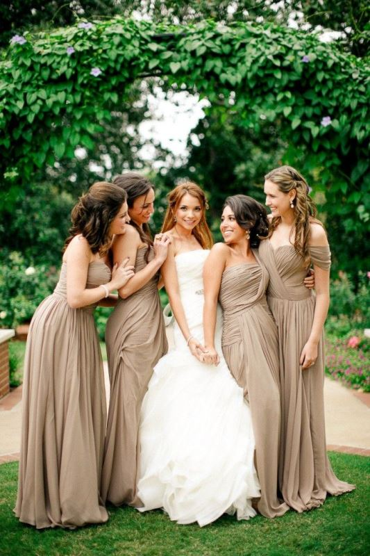 Picture Of most beautiful neutral bridesmaids dresses  21