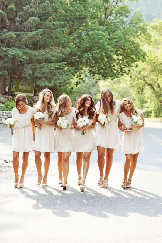 Picture Of most beautiful neutral bridesmaids dresses  26