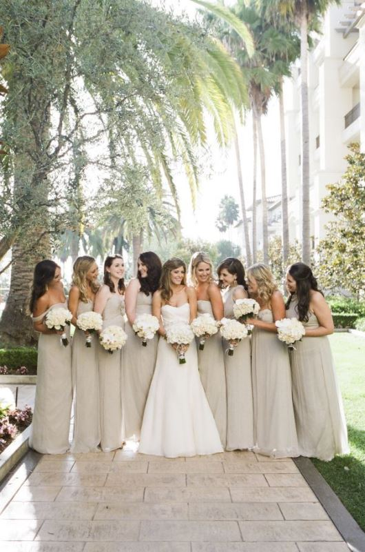 Picture Of most beautiful neutral bridesmaids dresses  27