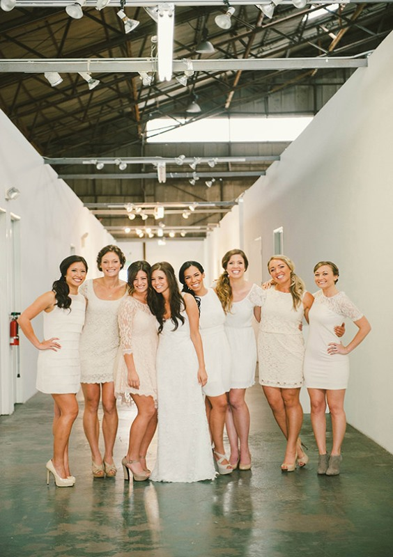Picture Of most beautiful neutral bridesmaids dresses  6