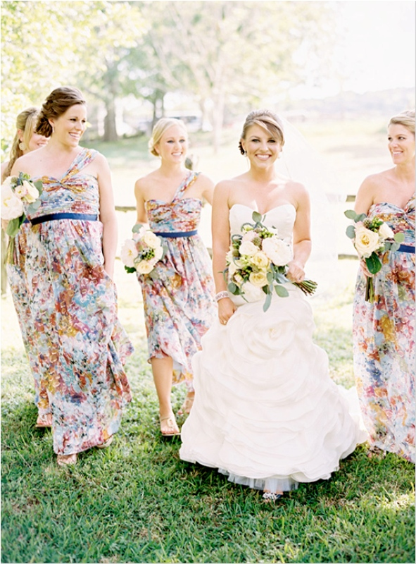Floral Print Wedding Dresses 20 Marvelous Pretty Floral And Printed