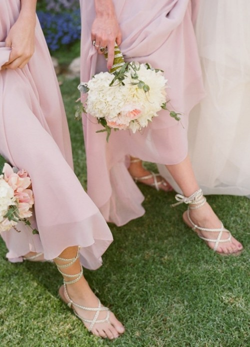 30 Romantic Light Pink Wedding Inspirational Ideas