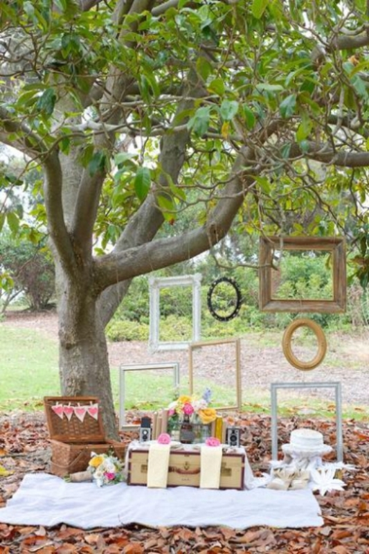 Romantic Backyard Picnic Ideas : Picture Of Romantic Wedding Picnic Ideas