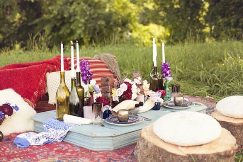 Romantic Backyard Picnic Ideas : 30 Romantic Wedding Picnic Ideas  Weddingomania