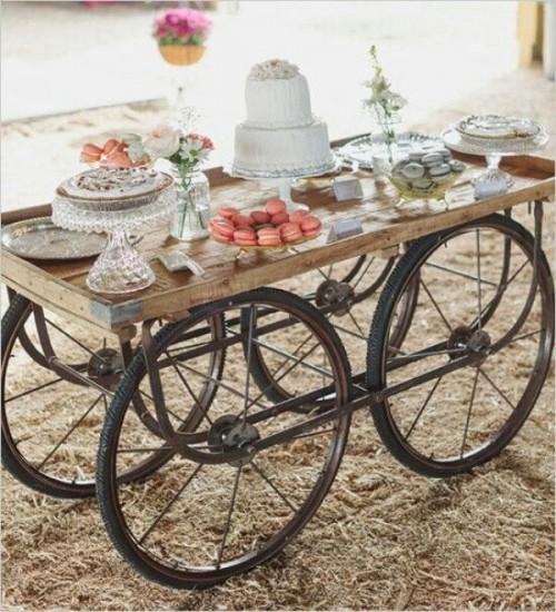 30 Rustic Inspired Food Display Ideas With Tastiest