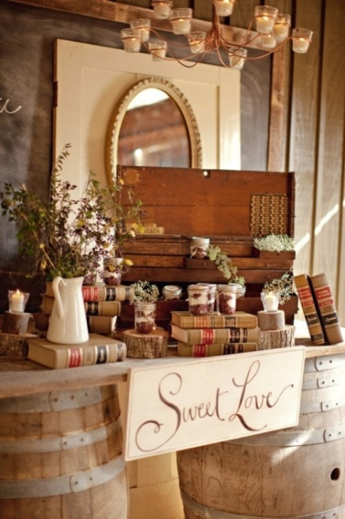30 Rustic Inspired Food Display Ideas With Tastiest