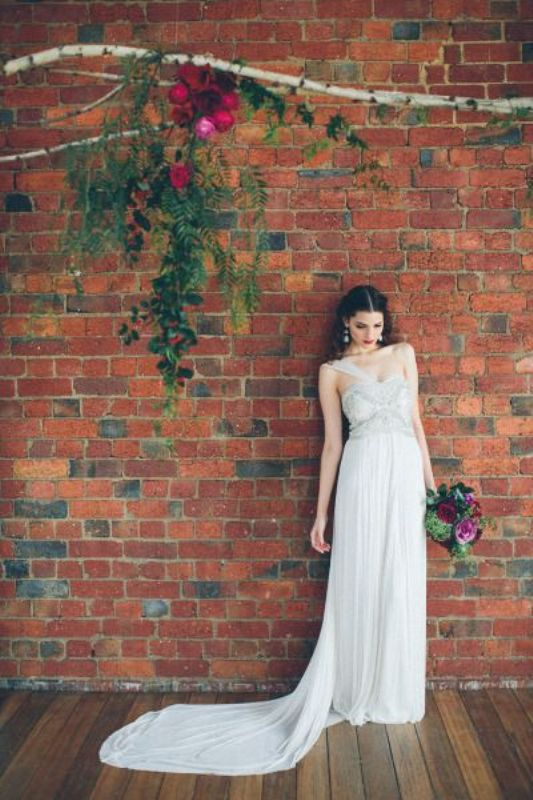 Picture Of stunning wedding dresses with trains  22