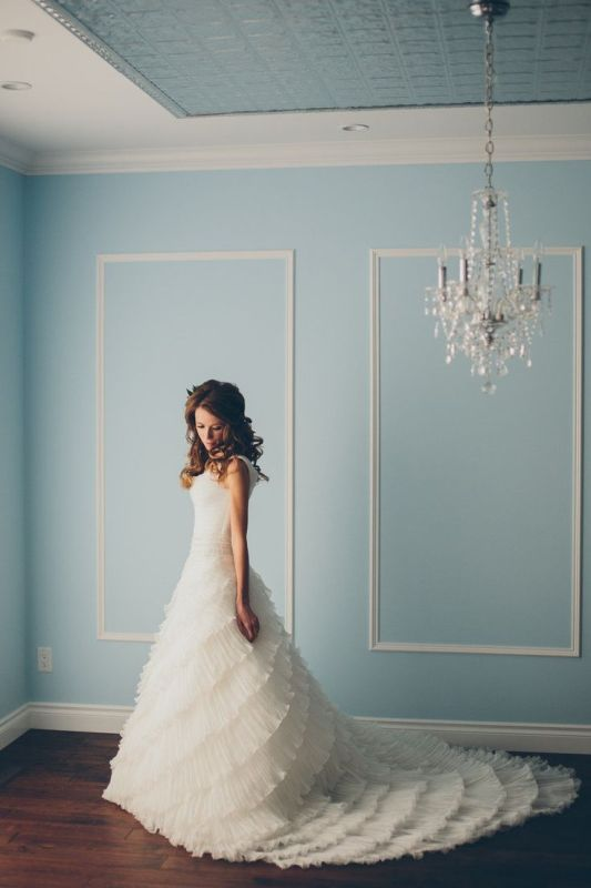 Picture Of stunning wedding dresses with trains  29