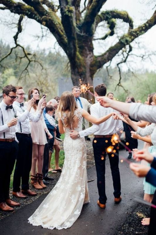 Picture Of stunning wedding dresses with trains  3