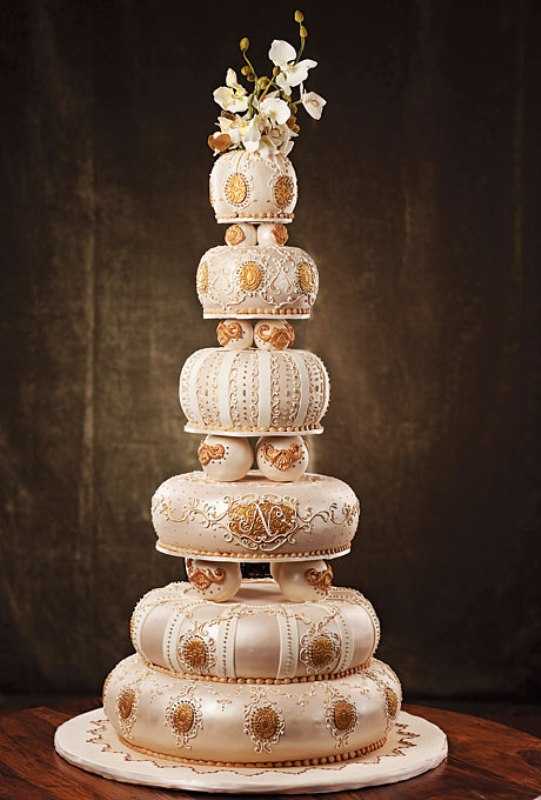 Picture Of The Most Creative Wedding Cake Designs To Inspire - Coolest Wedding Cakes