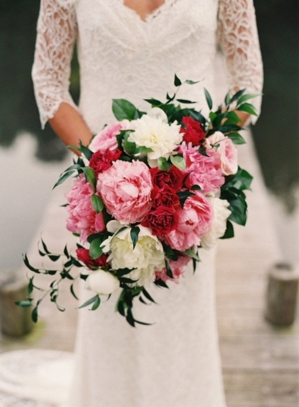 Picture Of The Most Romantic Peony Wedding Bouquets