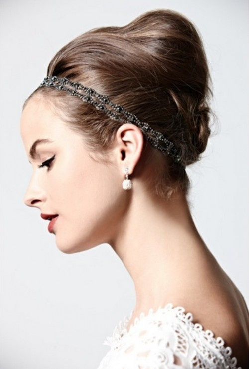 30 Trendy Wedding Hairstyles Ideas With The Top Knot