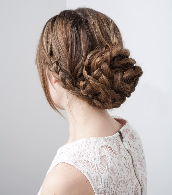 Picture Of Trendy Wedding Hairstyles Ideas With The Top Knot