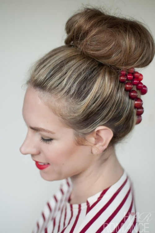 Trendy Wedding Hairstyles Ideas With The Top Knot