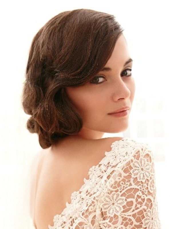 30 Awesome Vintage Wedding Hairstyles Ideas , Weddingomania