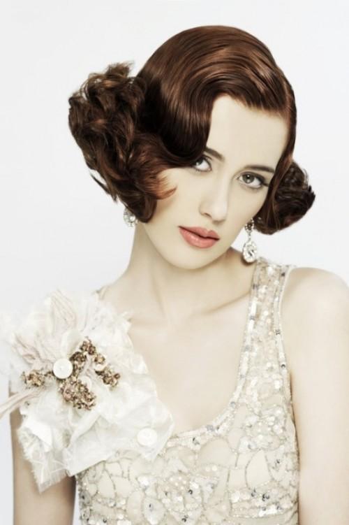 30 Awesome Vintage Wedding Hairstyles Ideas Weddingomania