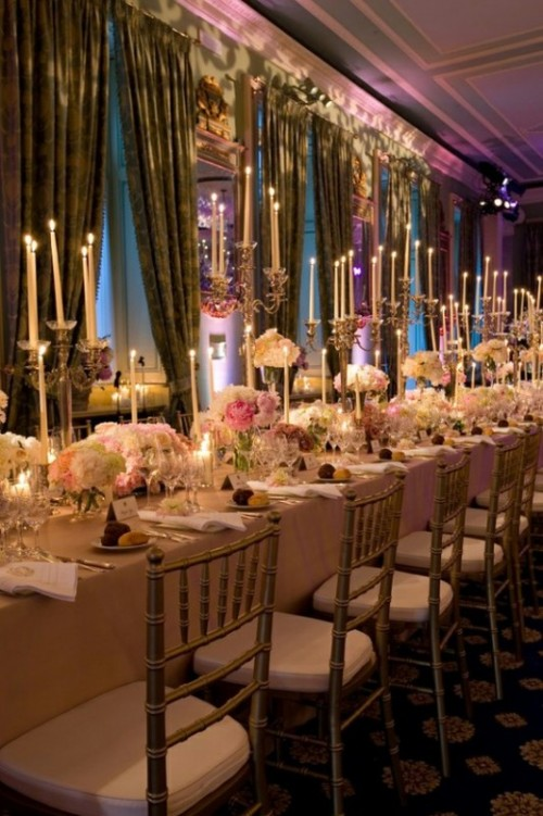 Wedding Long Tables And Receptions Ideas