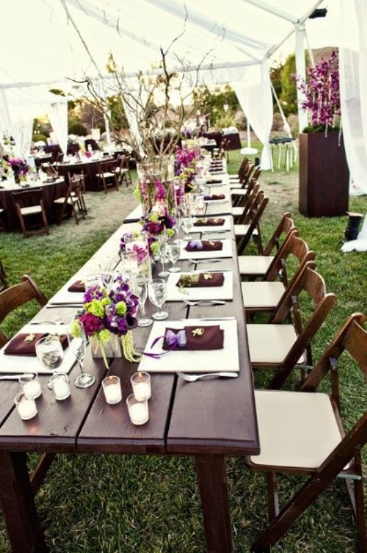 30 wedding long tables and receptions ideas weddingomania wedding long tables and receptions ideas junglespirit Image collections