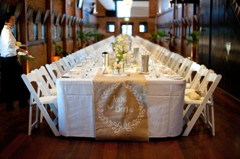 Picture Of Wedding Table Runner Ideas