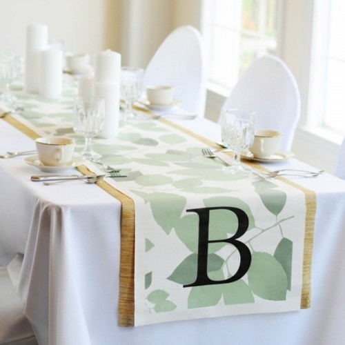 Wedding Gift Ideas For Runners : 30 Pretty Wedding Table Runner Ideas Weddingomania