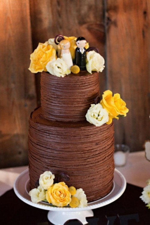 30 Wonderful Chocolate Cakes For Your Wedding