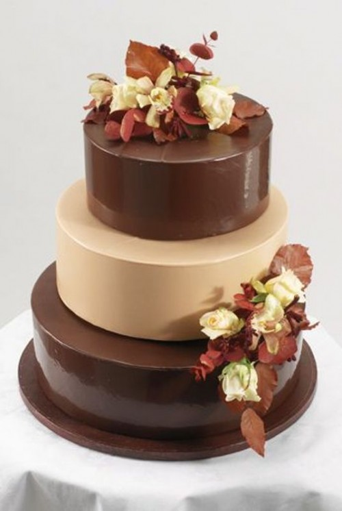 30 Wonderful Chocolate Cakes For Your Wedding Weddingomania